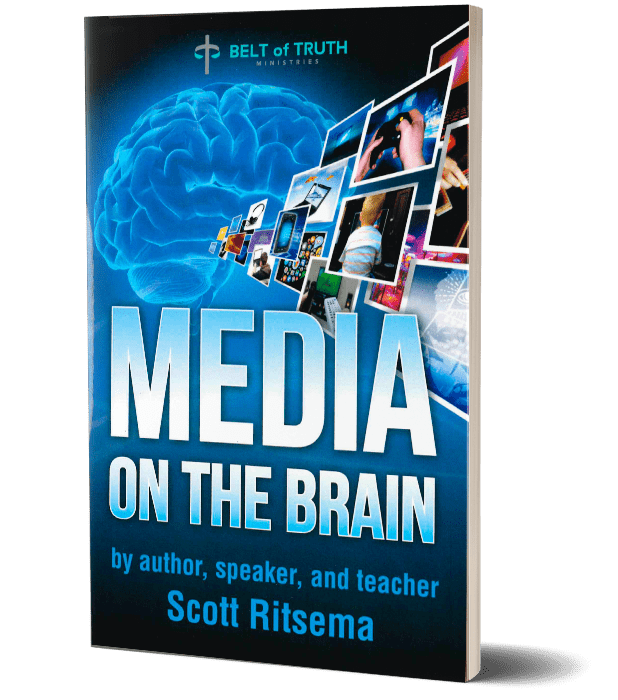 A book about media on the brain by author scott ritsema