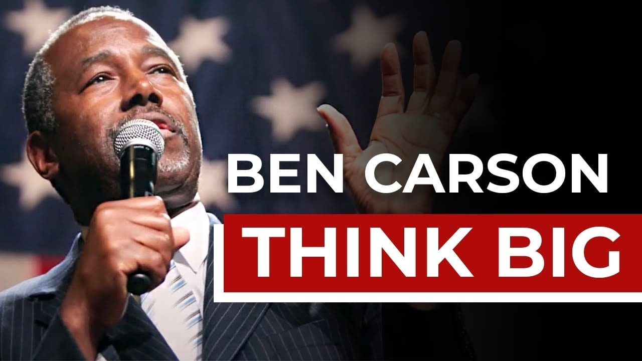 Ben Carson speaking to the people