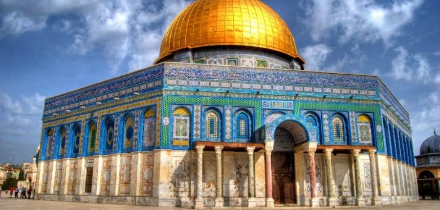 day 3 dome rock Jerusalem bethlehem